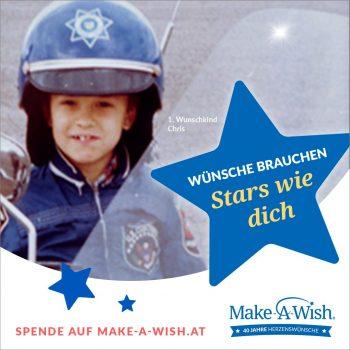 40 Jahre Make-A-Wish Foundation®: Wunsch-Jubiläum mit neuer Kampagne