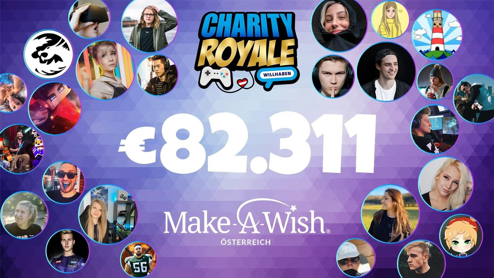 Charity Royal Gaming Event