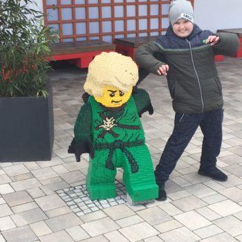 Amin reist in Legoland Deutschland
