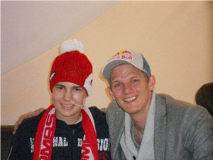 Christophs Meet-and-Greet mit Thomas Morgenstern