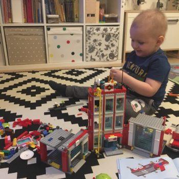 Eine LEGO Feuerwehr für Daniel