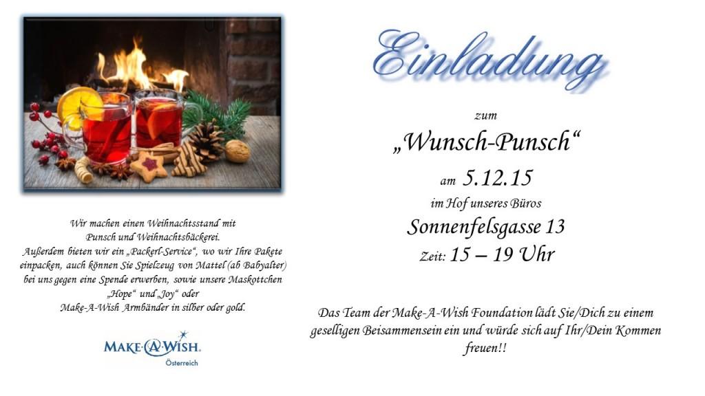 Einladung Wunsch-Punsch