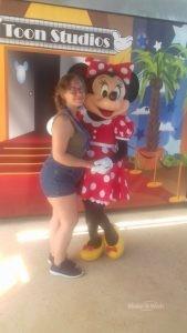 Französischer Zauber mit Mickey und Minnie Mouse für Ramona