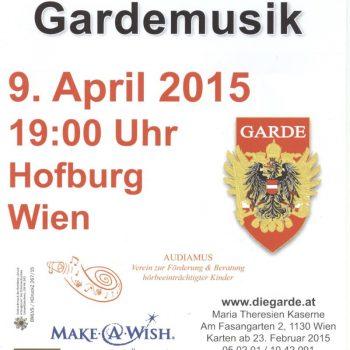 Frühlingskonzert der Gardemusik am 09.04.2015
