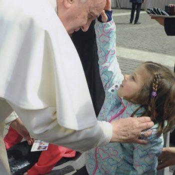 Hanna trifft den Papst