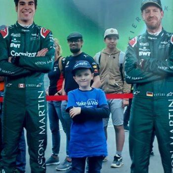León beim Formel 1 GP in Spielberg
