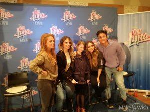 Meet and Greet mit Soy Luna