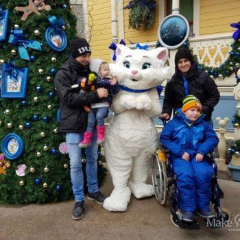 Lucian trifft Mickey und Co. im Disneyland Paris