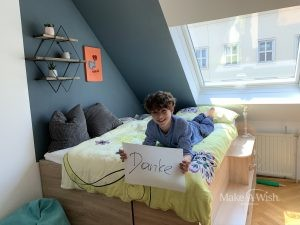 Niklas wünscht sich eine Zimmereinrichtung