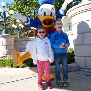 Stefan reist ins Disneyland Paris