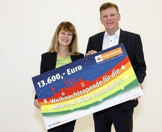 Wien Energie unterstützt Make-A-Wish