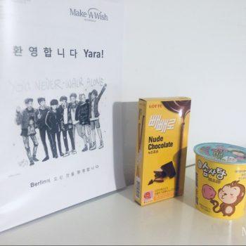 Yara schwebt auf Wolke 7 am Konzert der koreanischen Boy-Band BTS