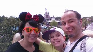 Bernd erlebt traumhafte Tage im Disneyland Paris