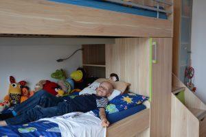 Ein neues Stockbett für Dominik