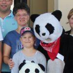 Elisas Panda-Wochenende in Wien