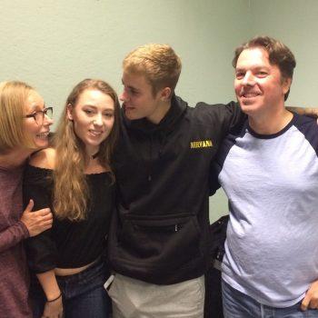 Ella trifft Justin Bieber