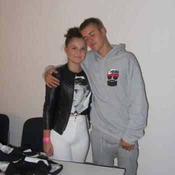 Elmas Herzenswunsch Justin Bieber zu treffen