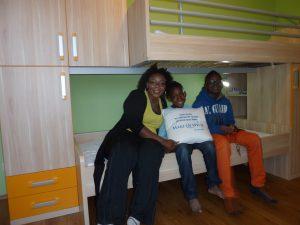 Ein richtiges Kinderzimmer für Jeremie