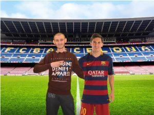 Jetmir besucht seine Fußballstars in Barcelona und Madrid