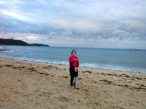 Lara reist nach Cornwall