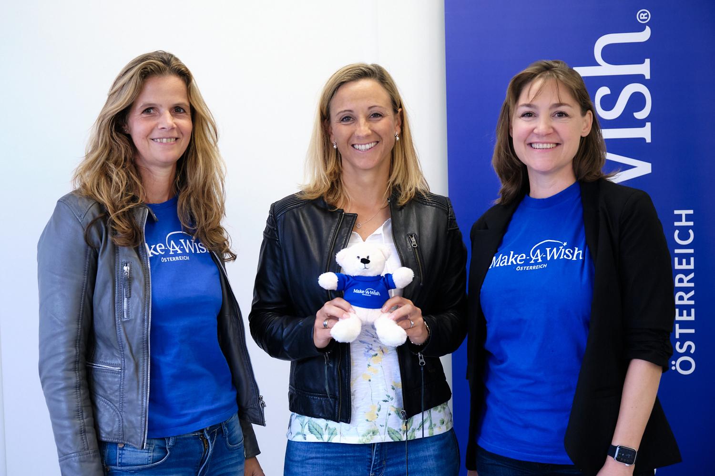 Dream-Team: Michaela Kirchgasser ist Markenbotschafterin für Make-A-Wish