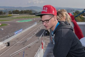 Markus beim Supermoto Grand Prix