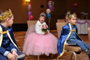 Mila verbringt einen Prinzessinnentag
