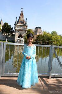 Valeria wünscht sich einmal Prinzessin Elsa zu sein