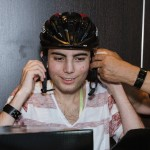Naim auf dem Mountainbike