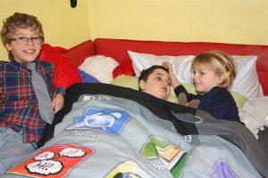 Weihnachten bei der Familie für Philipp