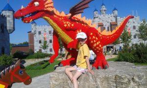 Rebecca im Legoland