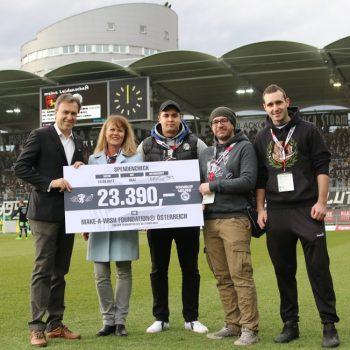 """23.390 € von """"Schwoarze helfen"""""""