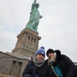 Sebastian (nicht ganz allein) in New York