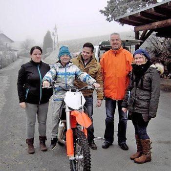 Sebastians Wunsch eines KTM Offroadbikes
