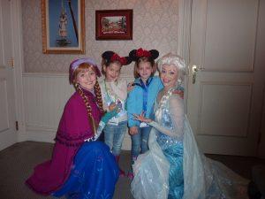 Marie verbringt zauberhafte Tage im Disneyland
