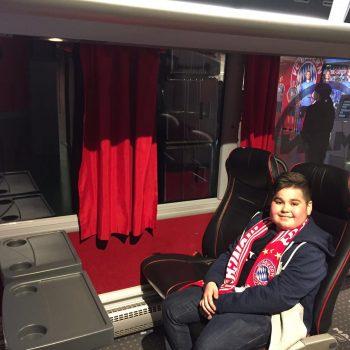 Stefan besucht ein Heimspiel des FC Bayern München