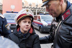 Einmal Polizist sein